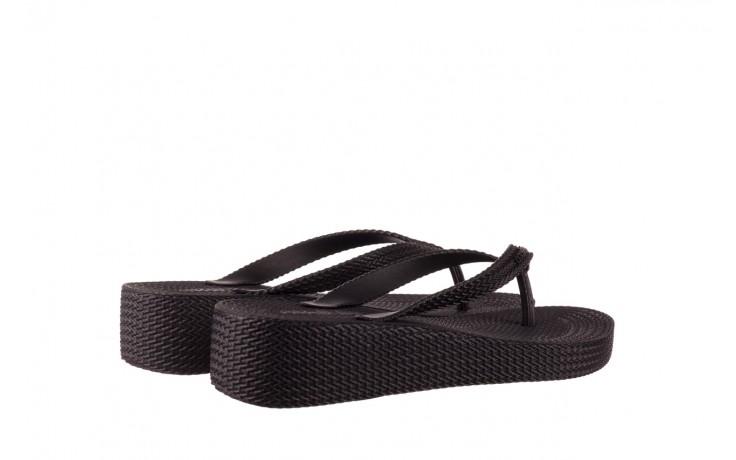 Klapki azaleia 296 505 black, czarny, guma - gumowe/plastikowe - klapki - buty damskie - kobieta 3
