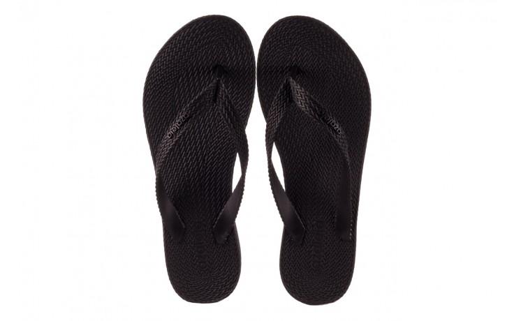 Klapki azaleia 296 505 black, czarny, guma - gumowe/plastikowe - klapki - buty damskie - kobieta 4