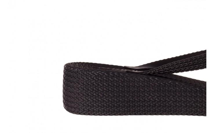 Klapki azaleia 296 505 black, czarny, guma - gumowe/plastikowe - klapki - buty damskie - kobieta 6