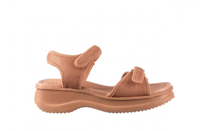 Sandały azaleia 320 321 nude, róż, materiał - sandały - buty damskie - kobieta