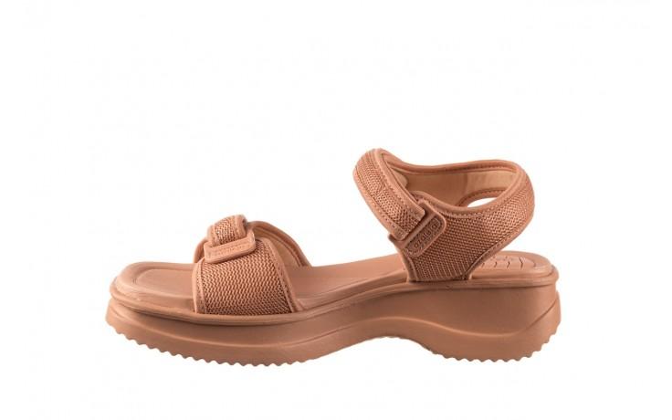 Sandały azaleia 320 321 nude, róż, materiał - sandały - buty damskie - kobieta 2