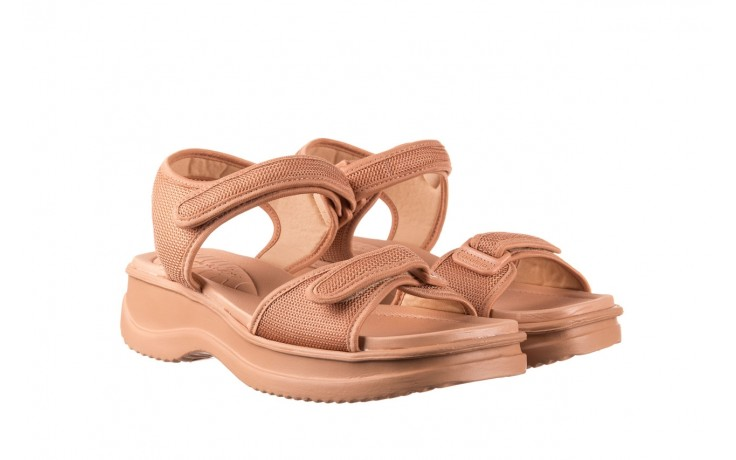 Sandały azaleia 320 321 nude, róż, materiał - sandały - buty damskie - kobieta 1