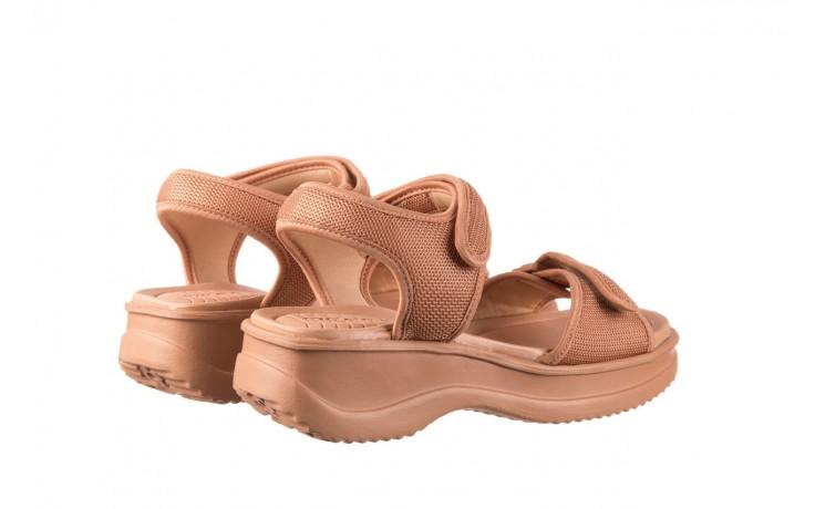 Sandały azaleia 320 321 nude, róż, materiał - sandały - buty damskie - kobieta 3
