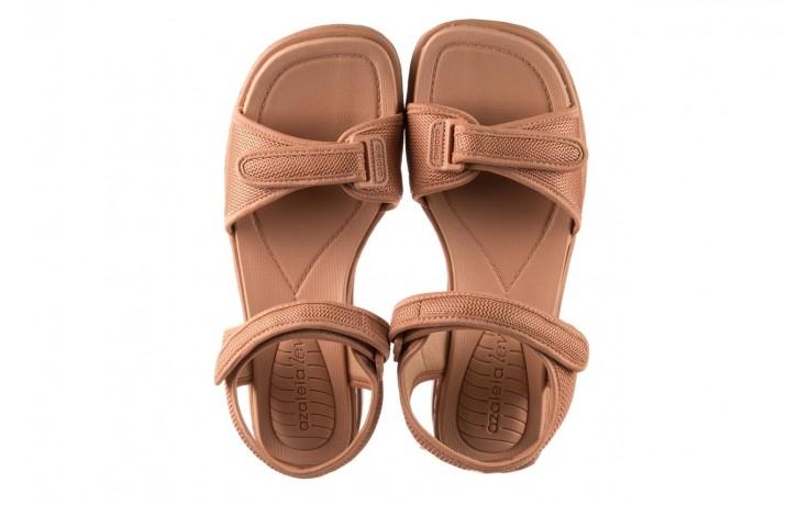 Sandały azaleia 320 321 nude, róż, materiał - sandały - buty damskie - kobieta 4