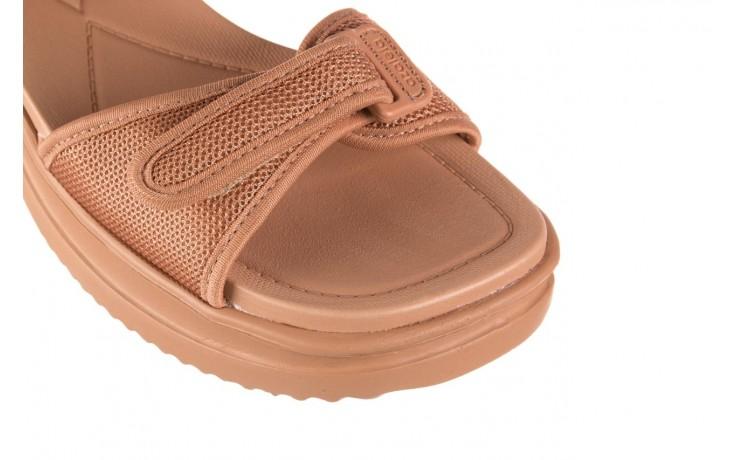 Sandały azaleia 320 321 nude, róż, materiał - sandały - buty damskie - kobieta 5