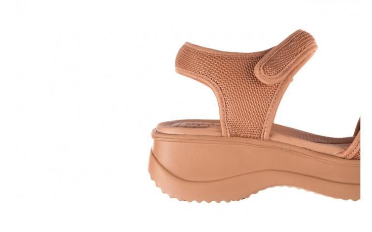 Sandały azaleia 320 321 nude, róż, materiał - sandały - buty damskie - kobieta 6