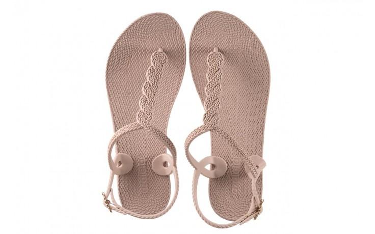 Sandały azaleia 296 569 pettit, beż, guma - mega okazje - ostatnie rozmiary 4