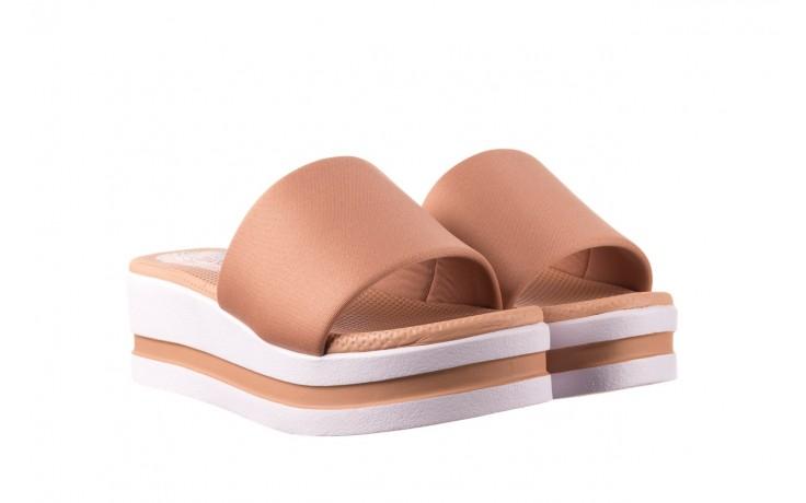 Klapki dijean 485 359 nude, beż, materiał  - klapki - buty damskie - kobieta 1