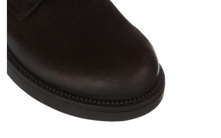 Trzewiki bayla 161 020 56 n1 black nubuck 161165, czarny, skóra naturalna  - kobieta 6