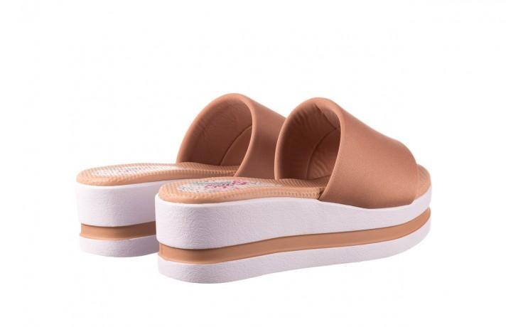 Klapki dijean 485 359 nude, beż, materiał  - klapki - buty damskie - kobieta 3