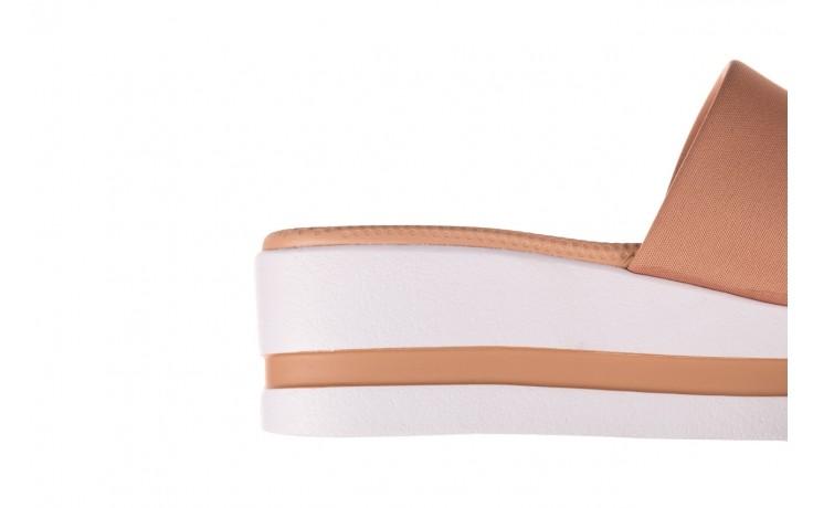 Klapki dijean 485 359 nude, beż, materiał  - klapki - buty damskie - kobieta 6