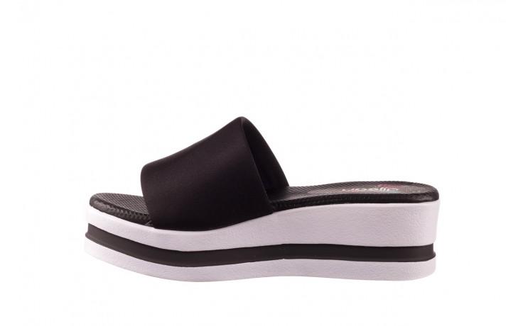Klapki dijean 485 359 black, czarny, materiał  - klapki - dla niej  - sale 2