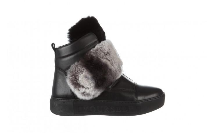 Śniegowce bayla 161 017 2021 02 black 161161, czarny, skóra naturalna  - śniegowce - śniegowce i kalosze - buty damskie - kobieta