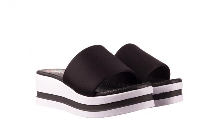 Klapki dijean 485 359 black, czarny, materiał  - klapki - dla niej  - sale 1