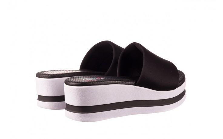 Klapki dijean 485 359 black, czarny, materiał  - klapki - dla niej  - sale 3