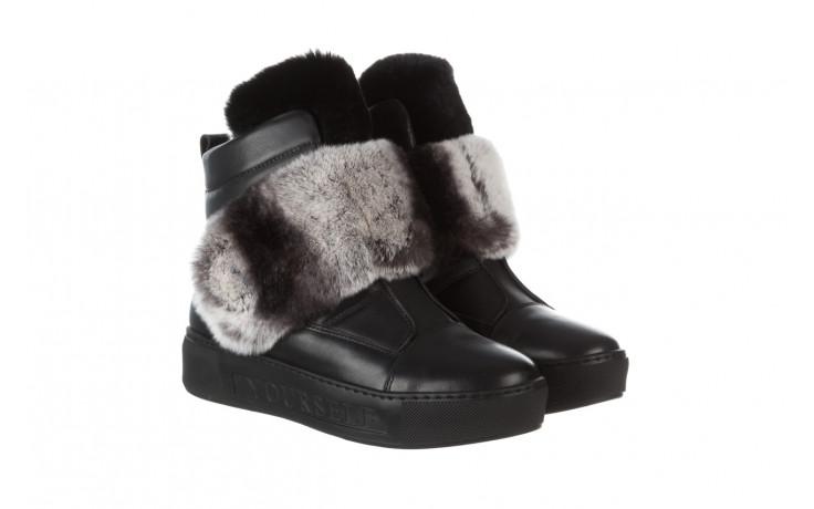 Śniegowce bayla 161 017 2021 02 black 161161, czarny, skóra naturalna  - śniegowce - śniegowce i kalosze - buty damskie - kobieta 1