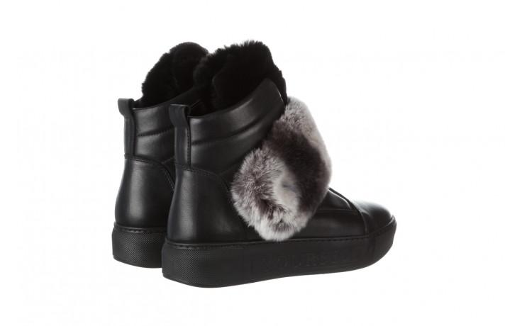 Śniegowce bayla 161 017 2021 02 black 161161, czarny, skóra naturalna  - śniegowce - śniegowce i kalosze - buty damskie - kobieta 4