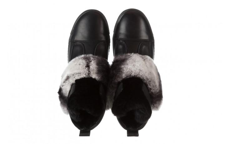 Śniegowce bayla 161 017 2021 02 black 161161, czarny, skóra naturalna  - śniegowce - śniegowce i kalosze - buty damskie - kobieta 5