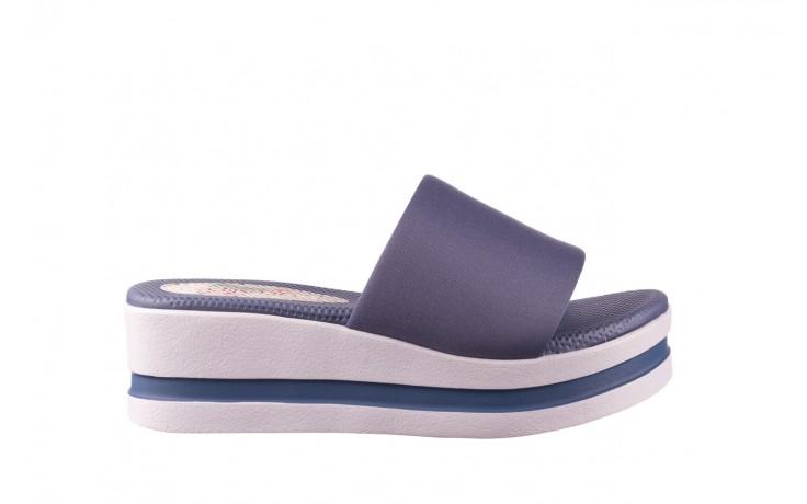 Klapki dijean 485 359 maritime, niebieski, materiał - klapki - buty damskie - kobieta