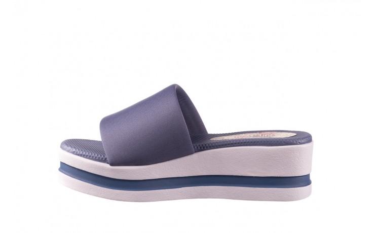 Klapki dijean 485 359 maritime, niebieski, materiał - klapki - buty damskie - kobieta 2