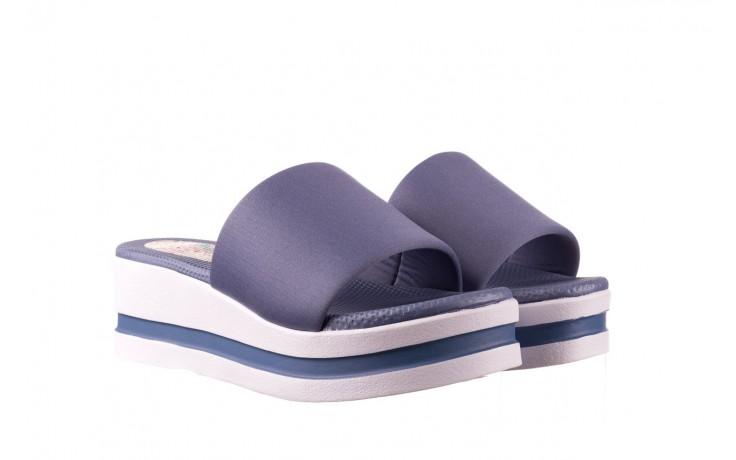 Klapki dijean 485 359 maritime, niebieski, materiał - klapki - buty damskie - kobieta 1