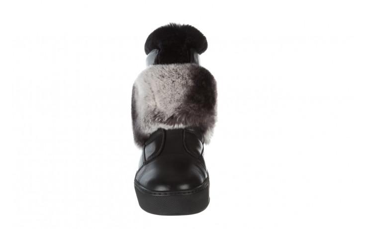 Śniegowce bayla 161 017 2021 02 black 161161, czarny, skóra naturalna  - śniegowce - śniegowce i kalosze - buty damskie - kobieta 8