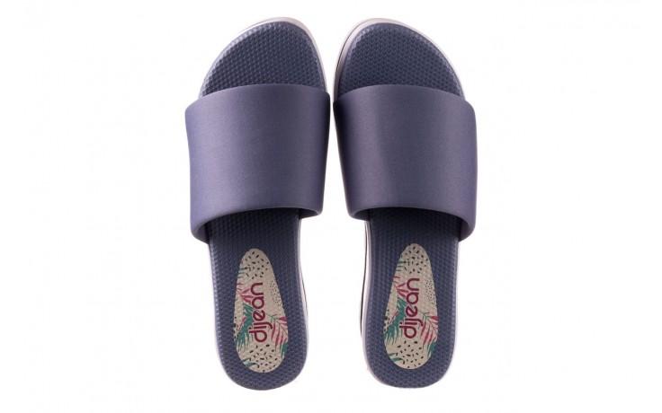 Klapki dijean 485 359 maritime, niebieski, materiał - klapki - buty damskie - kobieta 4