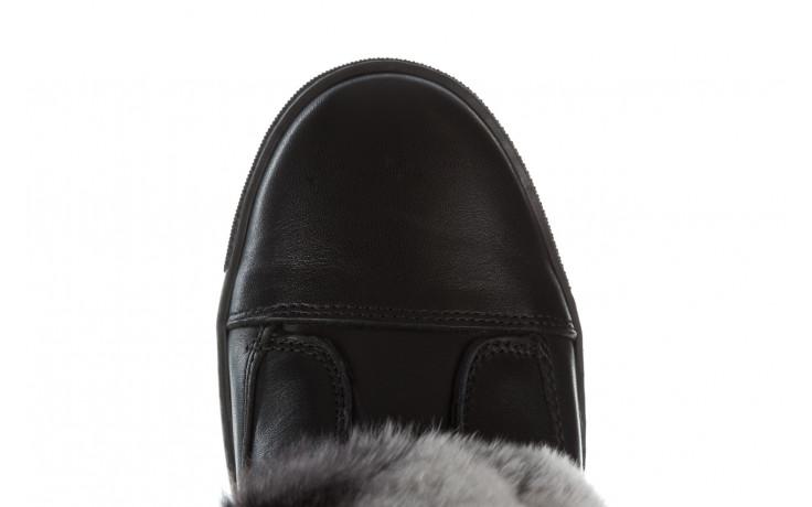 Śniegowce bayla 161 017 2021 02 black 161161, czarny, skóra naturalna  - śniegowce - śniegowce i kalosze - buty damskie - kobieta 11