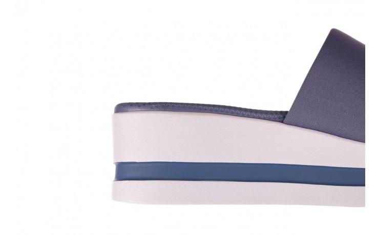 Klapki dijean 485 359 maritime, niebieski, materiał - klapki - buty damskie - kobieta 6