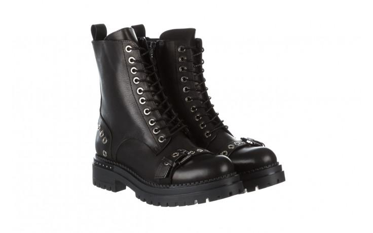 Trzewiki bayla 161 050 7255  01 black 161176, czarny, skóra naturalna  - trzewiki - buty damskie - kobieta 1