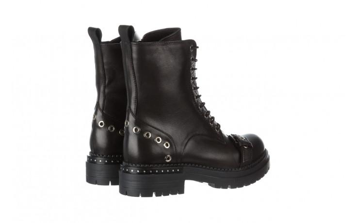 Trzewiki bayla 161 050 7255  01 black 161176, czarny, skóra naturalna  - trzewiki - buty damskie - kobieta 4