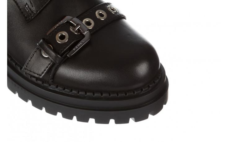 Trzewiki bayla 161 050 7255  01 black 161176, czarny, skóra naturalna  - trzewiki - buty damskie - kobieta 6