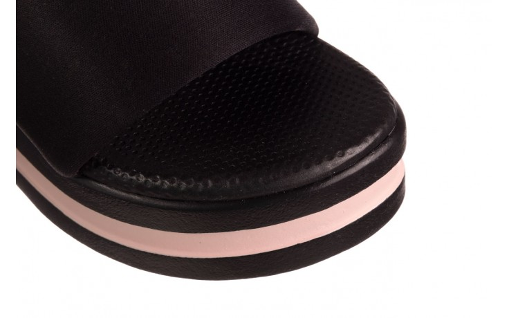 Klapki dijean 485 359 black vanilla, czarny, materiał  - dijean - nasze marki 5