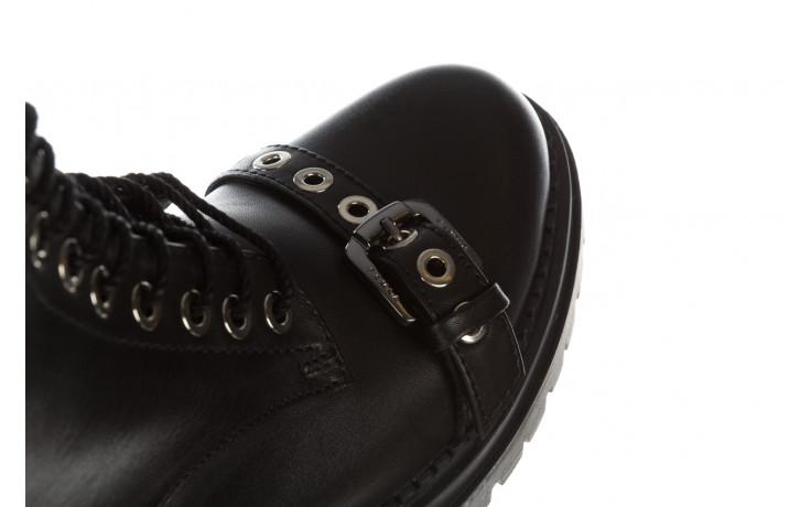 Trzewiki bayla 161 050 7255  01 black 161176, czarny, skóra naturalna  - trzewiki - buty damskie - kobieta 11