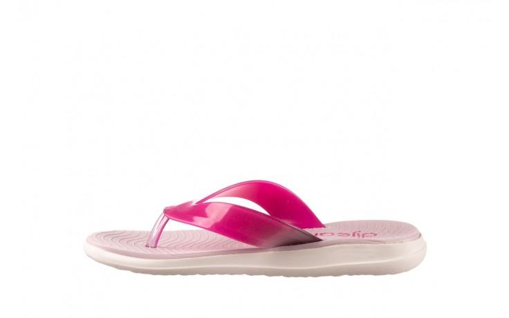 Klapki dijean 285 368 cereja cherry degrade, róż, guma - gumowe/plastikowe - klapki - buty damskie - kobieta 2