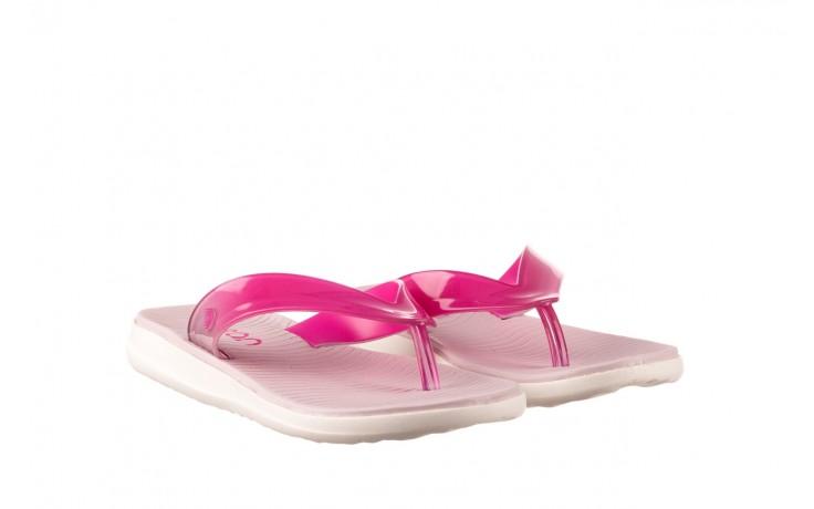 Klapki dijean 285 368 cereja cherry degrade, róż, guma - gumowe/plastikowe - klapki - buty damskie - kobieta 1
