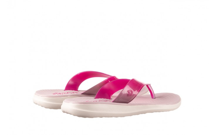 Klapki dijean 285 368 cereja cherry degrade, róż, guma - gumowe/plastikowe - klapki - buty damskie - kobieta 3