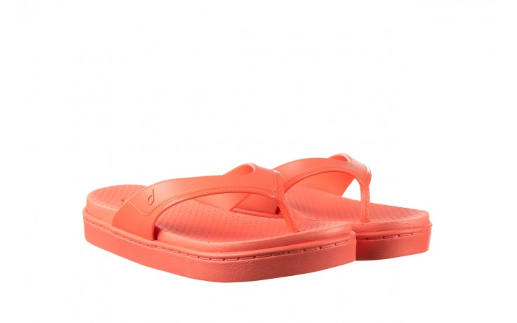 Klapki dijean 286 248 coral coral, róż, guma - klapki - buty damskie - kobieta 1