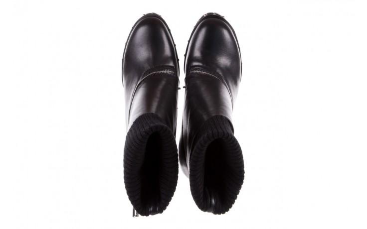 Botki bayla-144 9307 czarne botki 144019, skóra naturalna  - bayla - nasze marki 5