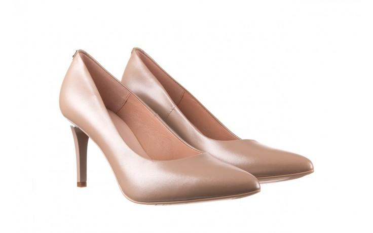 Czółenka bayla-056 1816-1421 beż 20, skóra naturalna  - skórzane - czółenka - buty damskie - kobieta 1