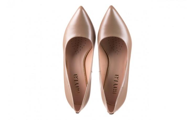 Czółenka bayla-056 1816-1421 beż 20, skóra naturalna  - skórzane - czółenka - buty damskie - kobieta 4