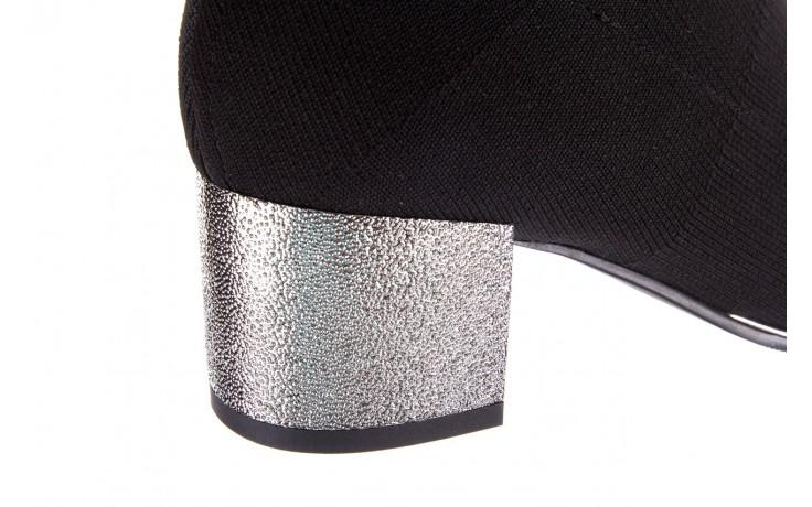 Botki sca'viola b-88 black, czarny, materiał - sca`viola - nasze marki 7