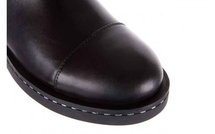 Botki bayla-144 9304 czarne botki, skóra naturalna  - bayla - nasze marki 9