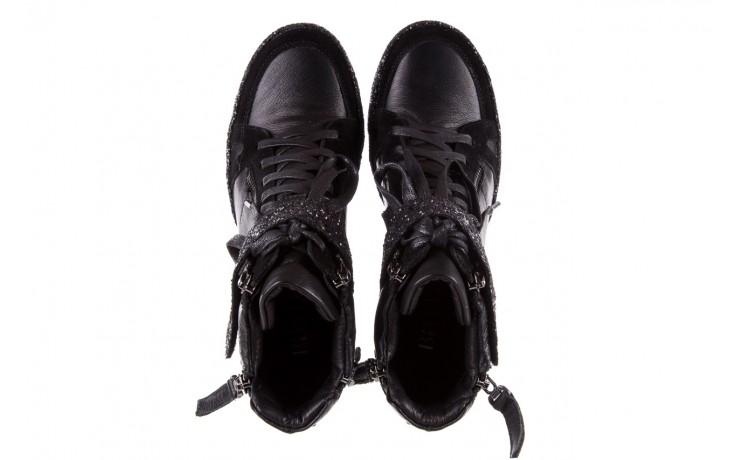 Sneakersy bayla-144 9302 czarne sneakersy, skóra naturalna  - bayla - nasze marki 5