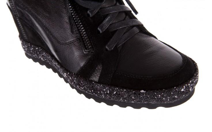 Sneakersy bayla-144 9302 czarne sneakersy, skóra naturalna  - bayla - nasze marki 8