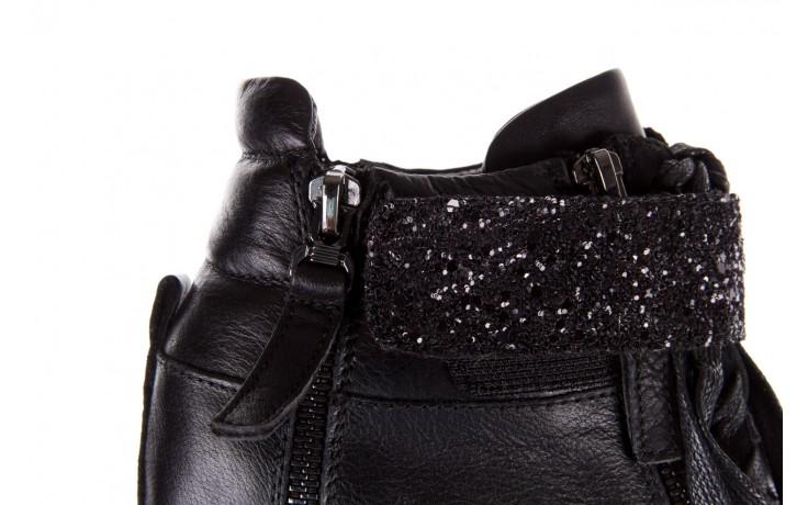 Sneakersy bayla-144 9302 czarne sneakersy, skóra naturalna  - bayla - nasze marki 7