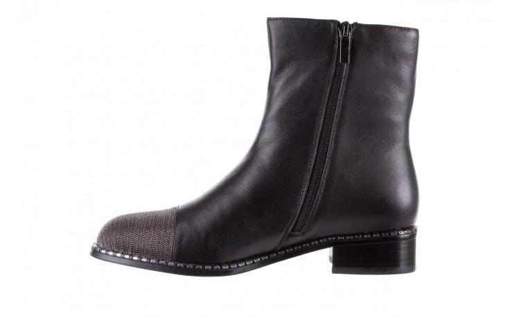 Botki sca'viola f-93 black, czarny, skóra naturalna  - sztyblety - botki - buty damskie - kobieta 4