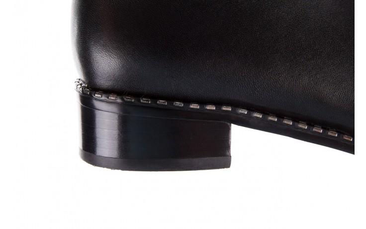 Botki sca'viola f-93 black, czarny, skóra naturalna  - sztyblety - botki - buty damskie - kobieta 6