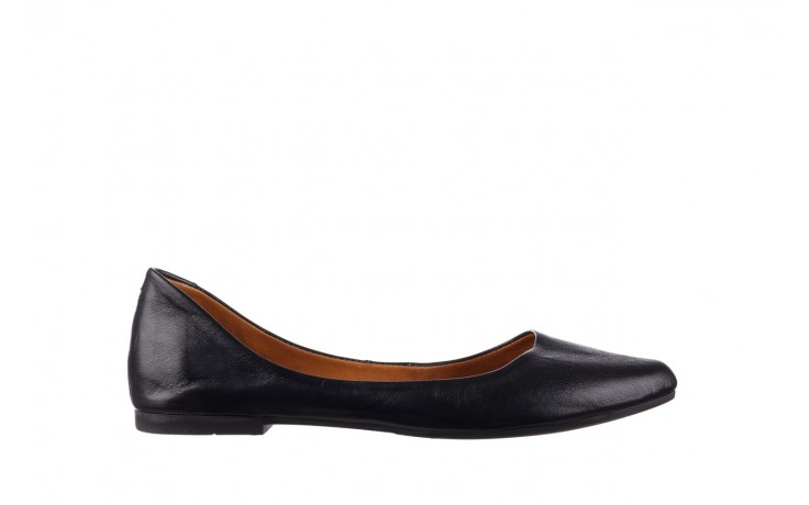 Baleriny bayla-161 066 1000 3 20 black, czarny, skóra naturalna  - skórzane - baleriny - buty damskie - kobieta
