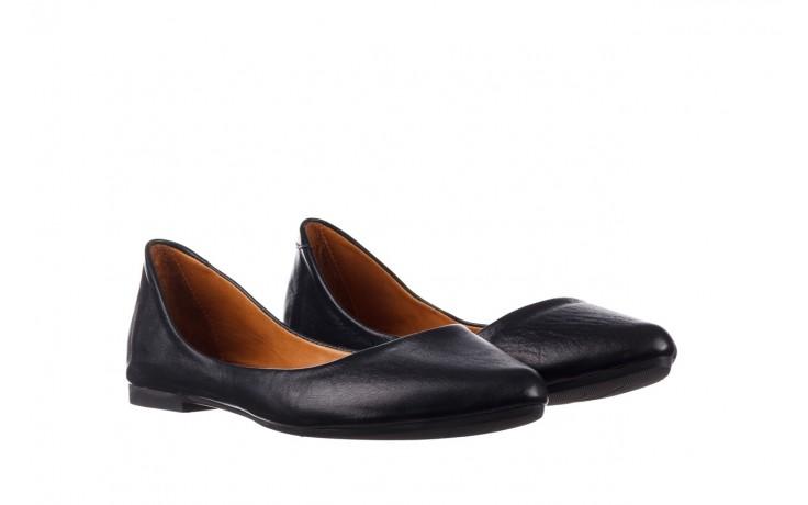 Baleriny bayla-161 066 1000 3 20 black, czarny, skóra naturalna  - skórzane - baleriny - buty damskie - kobieta 1